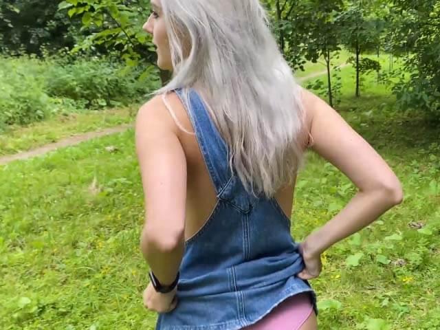 [신작] Eva Elfie – hold a big event in a public park